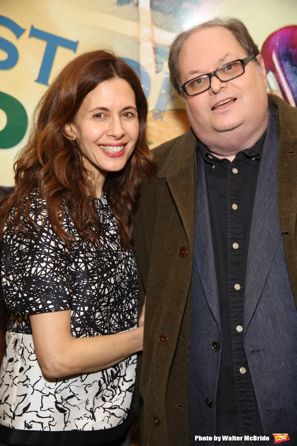 Jessica Hecht and Richard Greenberg Photo