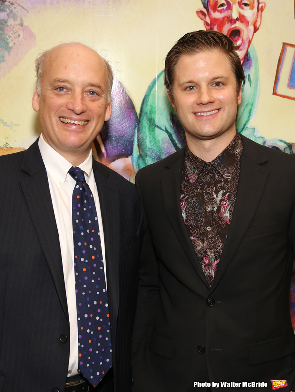 Frank Wood and Michael Oberholtzer