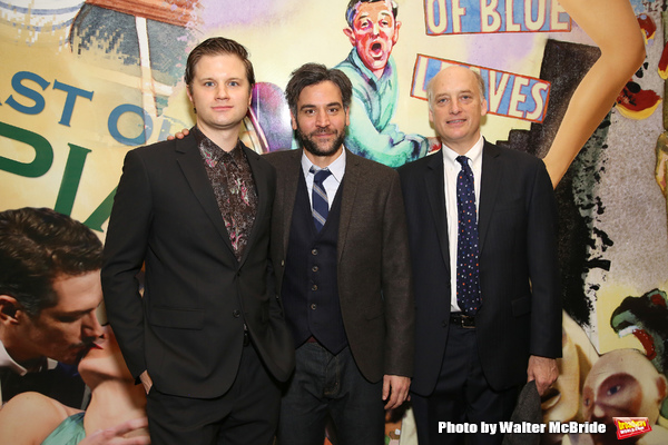 Michael Oberholtzer, Josh Radnor and Frank Wood