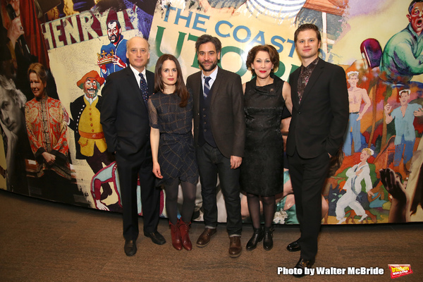 Frank Wood, Elizabeth Reaser, Josh Radnor, Randy Graff and Michael Oberholtzer
