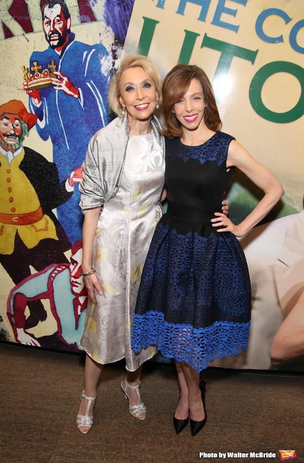Julie Halston and Maddie Corman
