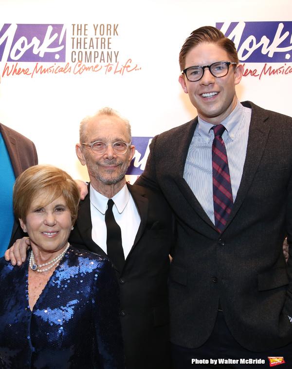Riki Kane Larimer, Joel Grey and Frank DiLella
