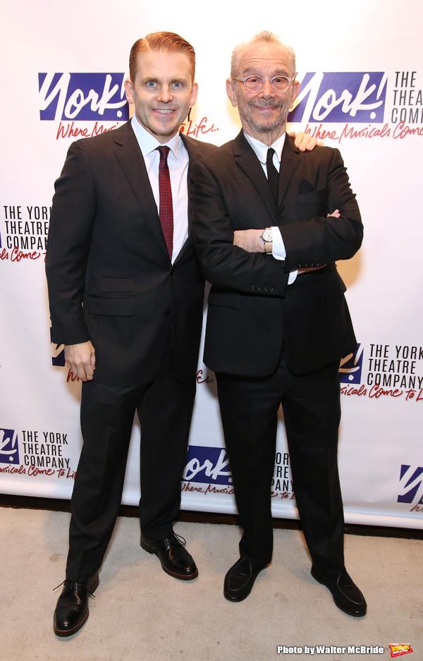 Robert Creighton and Joel Grey