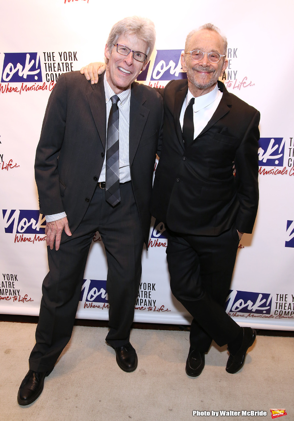 Ted Chapin and Joel Grey