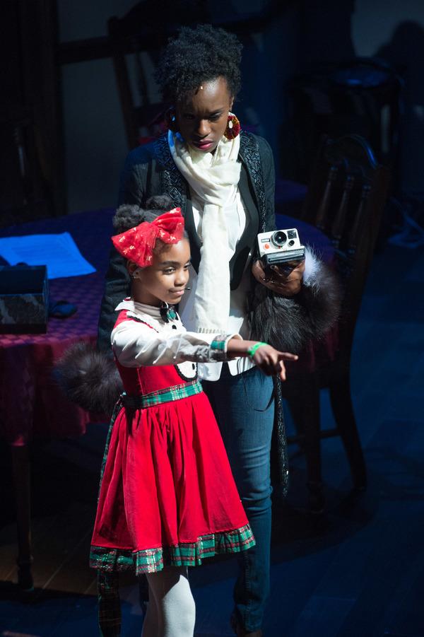 Zariah Singletary and Ashley Ware Jenkins Photo