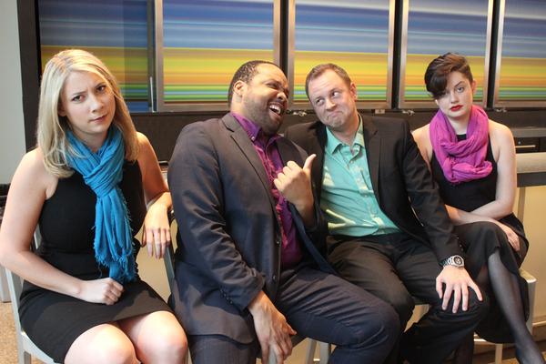 Allison Bret, Calvin Scott Roberts, Trey West and Janelle Lutz