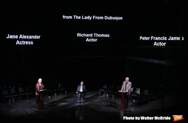 Jane Alexander, Richard Thomas and Peter Francis James