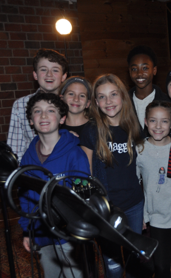 Evan Gray, Gavin Swartz, Serena Quadrato, Brooklyn Nelson, Melika Hurd and Ava Brigli Photo