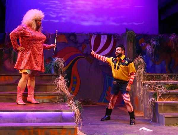 Kyle Sturdivant as Dollinda and John Ryan Del Bosque as Onechkin