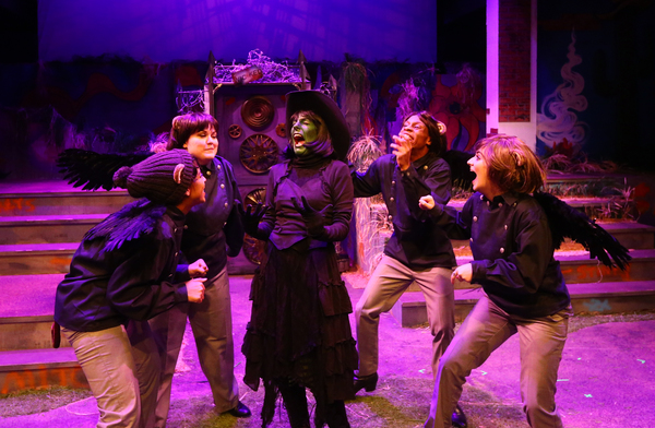 Photo Flash: First Look at PANTO WONDERFUL WIZARD at Stages Repertory Theatre