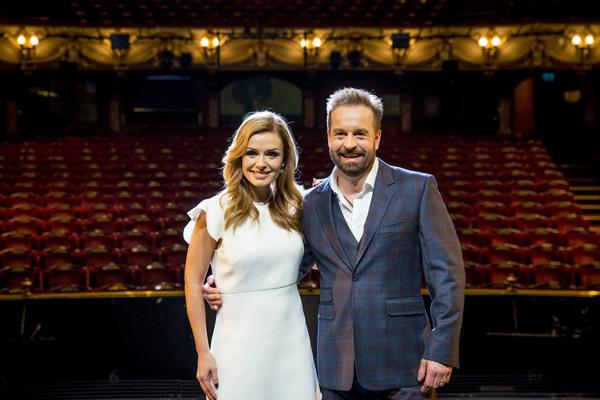 Katherine Jenkins and Alfie Boe