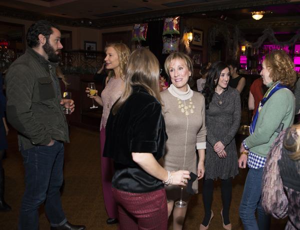 Photo Flash: Dear Friends Celebrate Laura Benanti's Baby Shower at Feinstein's/54 Below