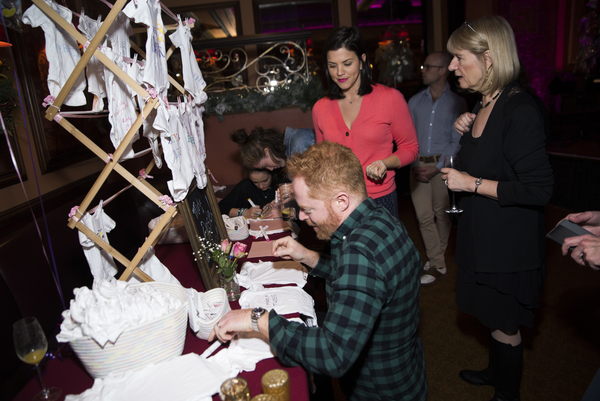 Jesse Tyler Ferguson, Sara Edwards, Kate Clark Photo