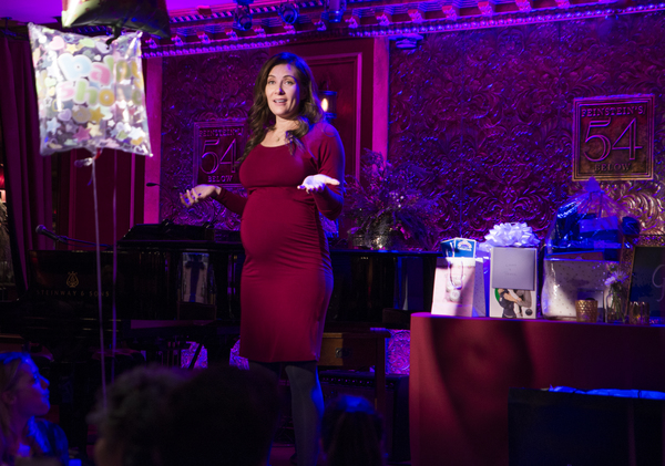 Photos: Dear Friends Celebrate Laura Benanti's Baby Shower at Feinstein's/54 Below