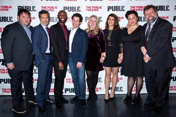 Photo Coverage: Nia Vardalos' TINY BEAUTIFUL THINGS Celebrates Opening Night at the Public