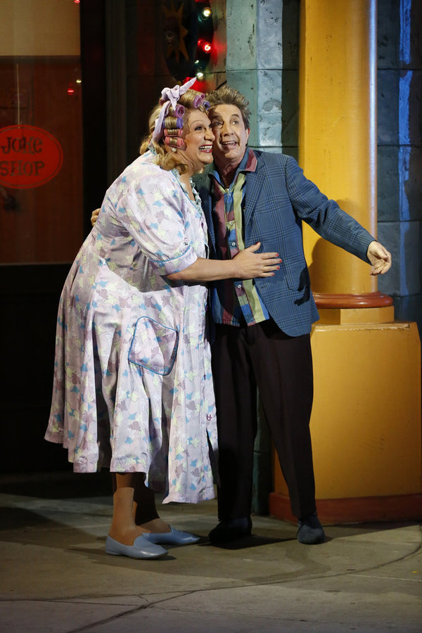 Harvey Fierstein, Martin Short