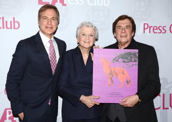Robert Kovacik, Angela Lansbury and David Michaels