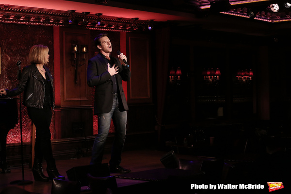 Photo Coverage: Orfeh and Andy Karl Get Ready for LEGALLY BOUND at Feinstein's/54 Below
