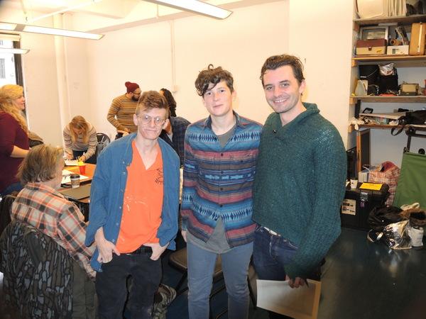 Jess Barbagallo, Basil Kreimendah and Dustin Willis Photo