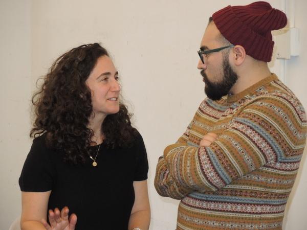 Daniella Topol and Victor Cervantes