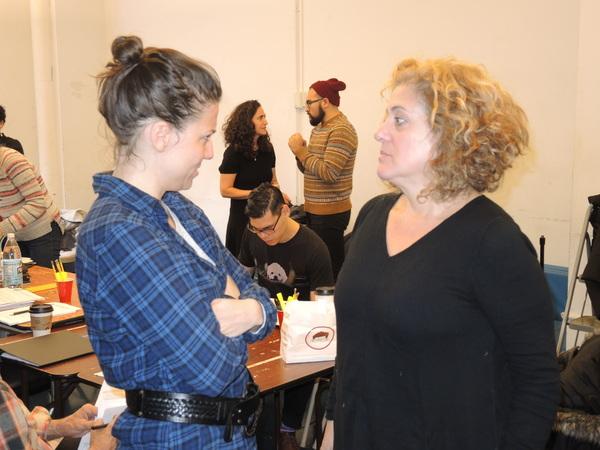 Irene Sofia Lucio and Mary Testa