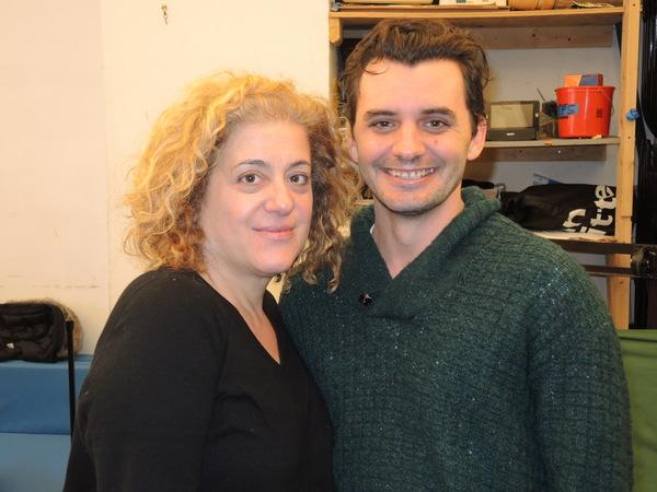Mary Testa and Dustin Willis
