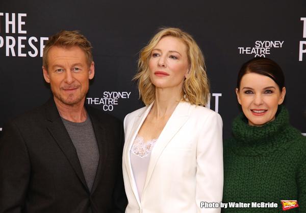 Richard Roxburgh, Cate Blanchett and Jacqueline McKenzie