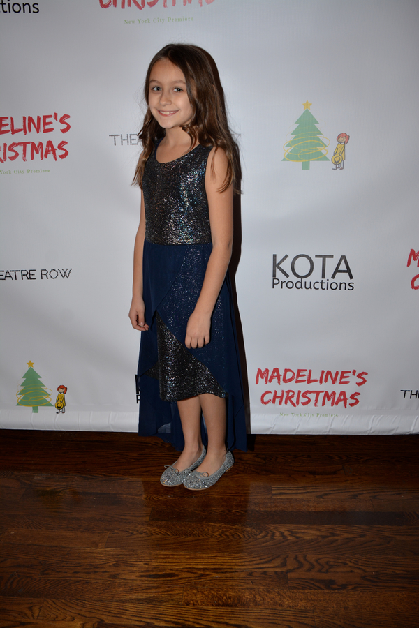 Photo Coverage: The Cast of MADELINE'S CHRISTMAS Celebrates Opening Night at the Lion Theatre