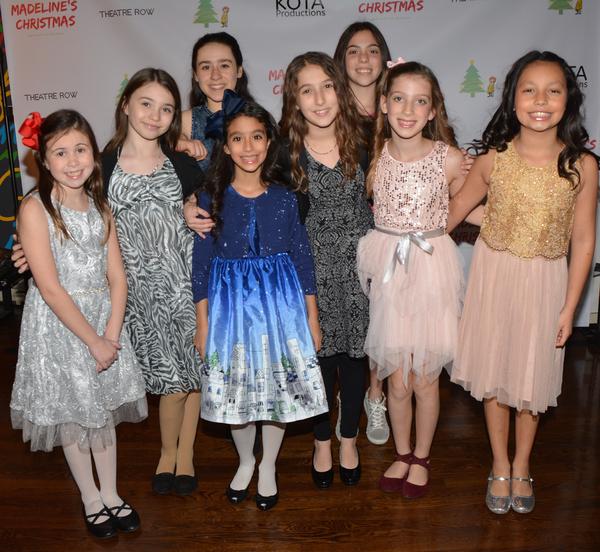 Elizabeth Bigham, Giada Blume. Maya Levitt, Madison Legares, Milena Manocchia, Jamie Neiberg, Ayla Schwartz and Ana-Sofia Rodriguez