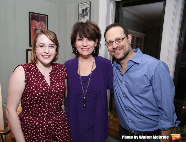 Caitlin Kinnunen, Beth Leavel and Matthew Sklar
