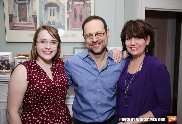 Caitlin Kinnunen, Matthew Sklar and Beth Leavel