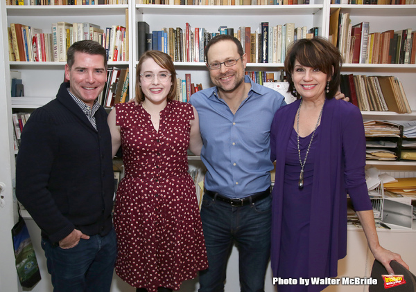 Chad Beguelin, Caitlin Kinnunen, Matthew Sklar and Beth Leavel
