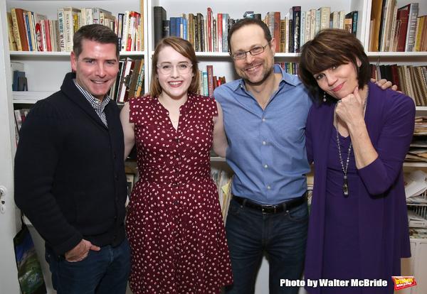 Chad Beguelin, Caitlin Kinnunen, Matthew Sklar and Beth Leavel