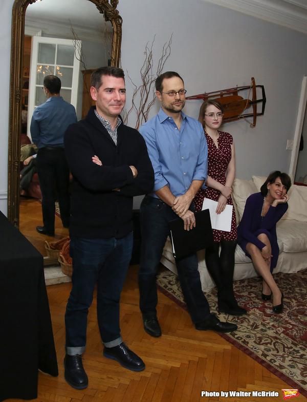 Chad Beguelin, Matthew Sklar, Caitlin Kinnunen and Beth Leavel