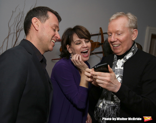 Andrew Lippa, Beth Leavel and John Epperson