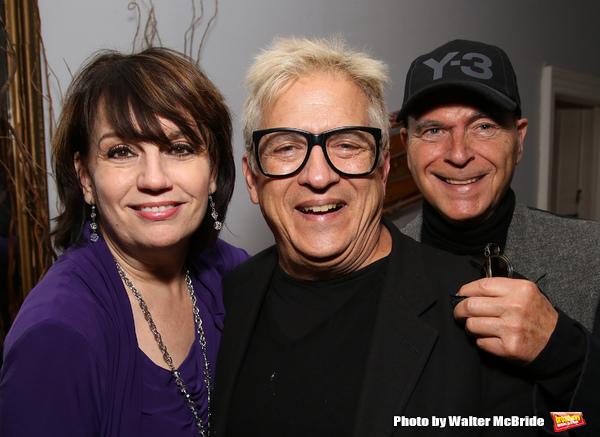 Beth Leavel, Ken Fallin and Stanley Steinberg