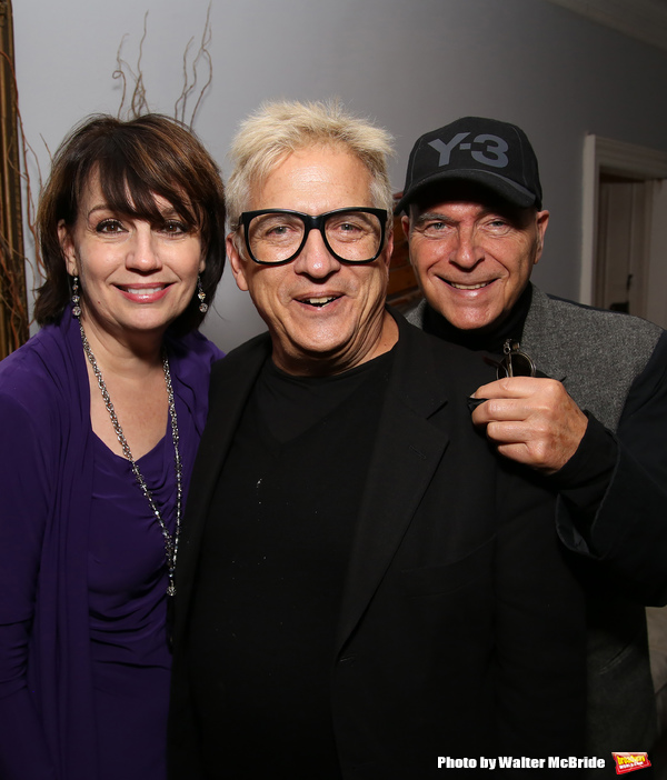 Beth Leavel, Ken Fallin and Stanley Steinberg