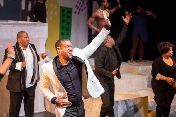Photo Flash: First Look at BLACK NATIVITY at Crossroads Theatre Company