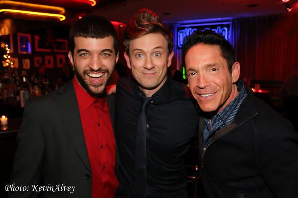 James AndrezejRushin, Tom Lenk, and Dave Koz Photo