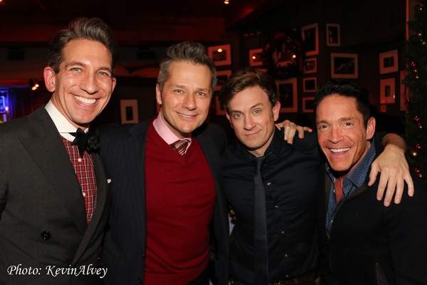 Mickey Conlon, Tom Postillo, Tom Lenk, and Dave Koz