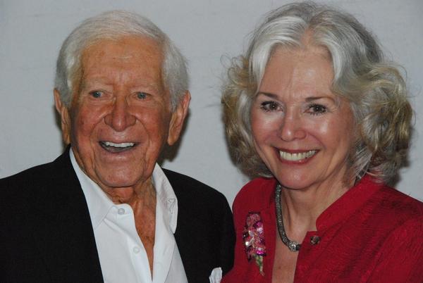 Robert Cobert and Kathryn Leigh Scott Photo