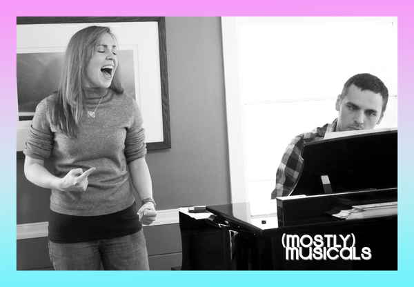 Photo Flash: (mostly)musicals in Rehearsal for Tonight's (mostly) HOLIDAY at Bar Fedora