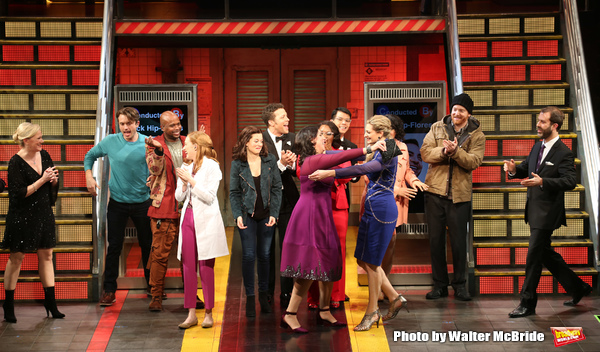 Kathleen Marshall, James Snyder, Chesney Snow, Erin Mackay, Margot Seibert, Justin Guarini, Kristen Anderson-Lopez, Moya Angela, Telly Leung, Sara Wordsworth, David Abeles and Russ Kaplan