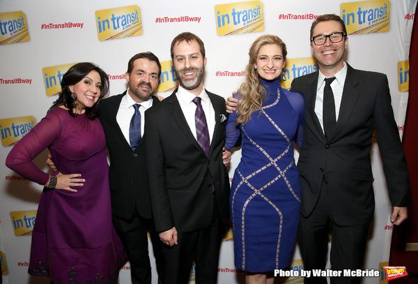 Kristen Anderson-Lopez, James-Allen Ford, Russ Kaplan, Sara Wordsworth and Deke Sharon