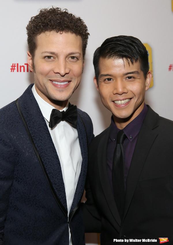 Justin Guarini and Telly Leung