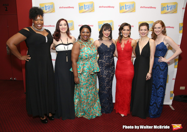 Aurelia Williams, Laurel Harris, Moya Angela, Mariand Torrez, Gerianne Perez, Margot Seibert and Erin Mackey