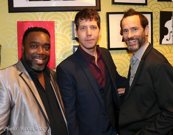Jesse Stevenson, James Barbour and Michael Duff Photo