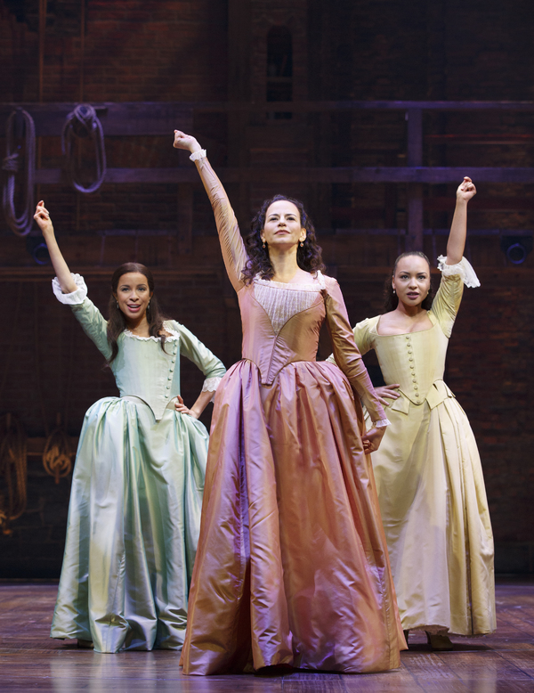 Lexi Lawson, Mandy Gonzalez and Jasmine Cephas Jones