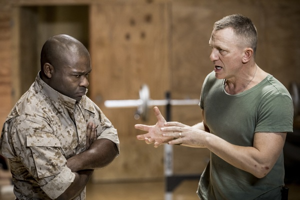 David Oyelowo and Daniel Craig