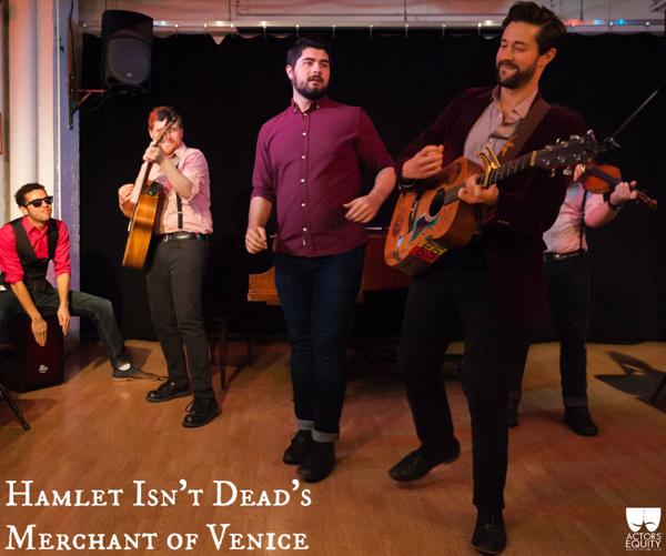 Photo Flash: Sneak Peek at Hamlet Isn't Dead's MERCHANT OF VENICE